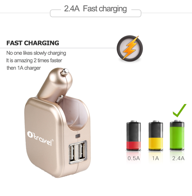 2.4A Fast Charging
